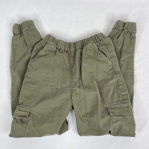 H&M Green Pull On Cargo Pants